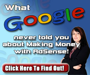 Make Money with Google AdSense!